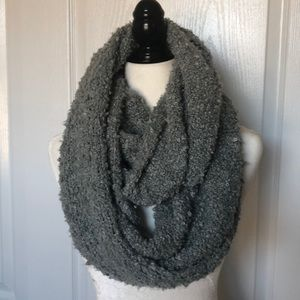 Pins and needles infinity scarf